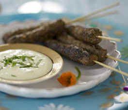 Silvana's Family Recipes: Amma's Savory Kebabs