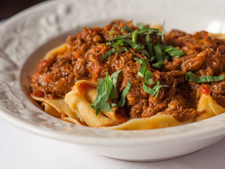 NY: Johns - lower east side Tuscan Ragu over Homemade Pappardelle