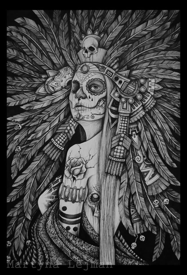 Witch-Doctor tattoo art. Very kool.