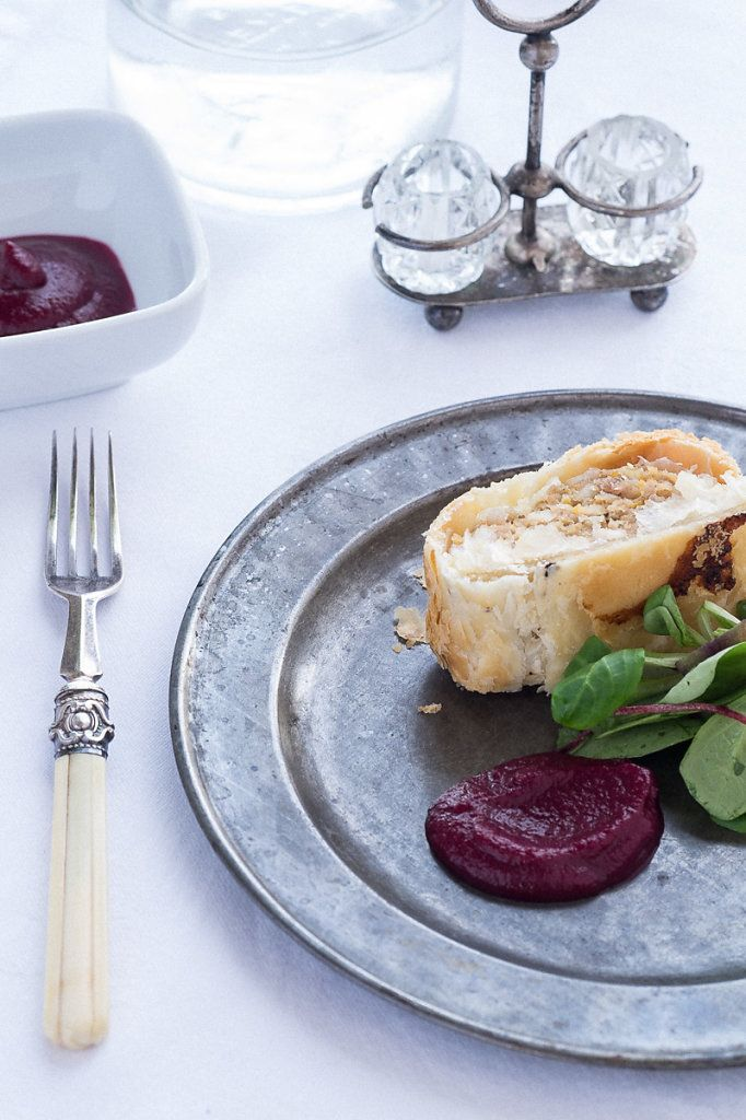 The Foraging Fox Beetroot Ketchup- perfect with a homemade sausage roll