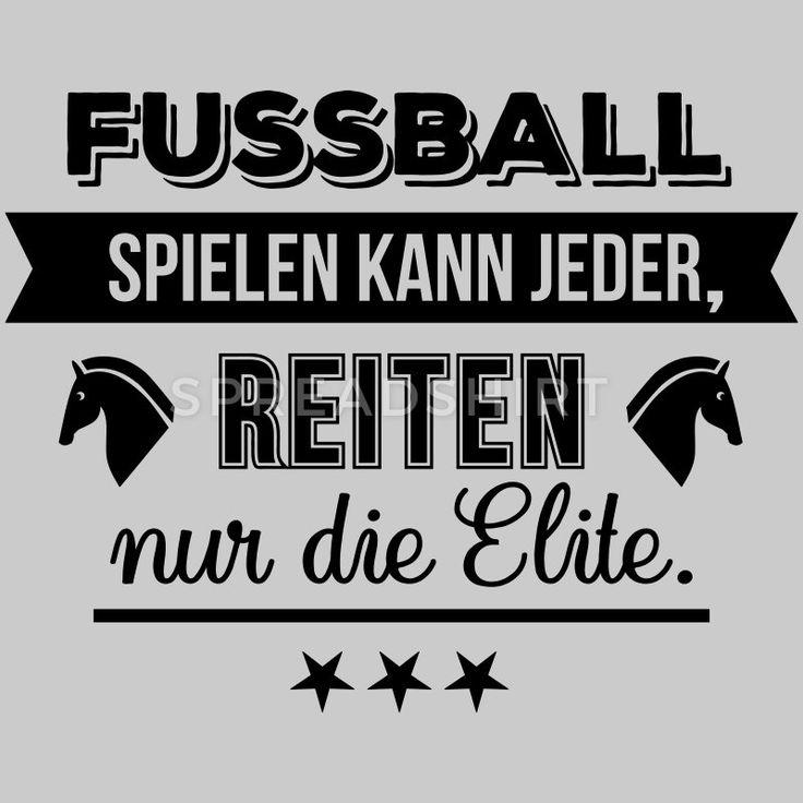 Fussball vs Reiten – Farbwechsel Frauen T-Shirt – Grau meliert