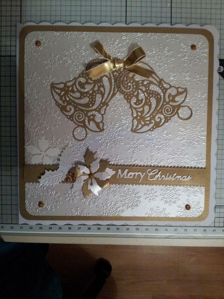 Embossing folder, Tattered Lace......