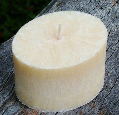 WEDDING CAKE Handmade Crystal Candles Madagascar Vanilla & Almond Ivory White $19