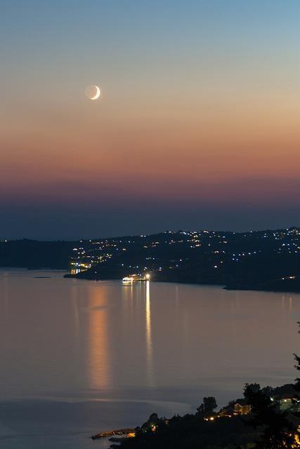Beautiful night in Kefalonia