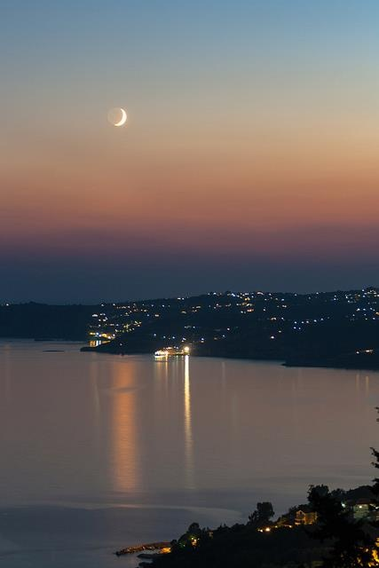 Beautiful night in Kefalonia went here for my honeymoon