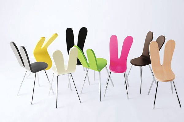 SANAA Rabit chairs