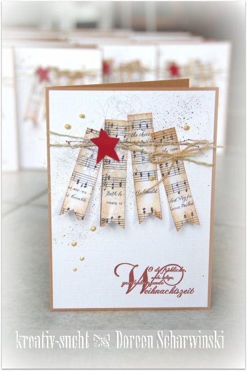 ♥ Kreativ - Sucht ♥: Meine Weihnachtskarten                                                                                                                                                                                 Mehr