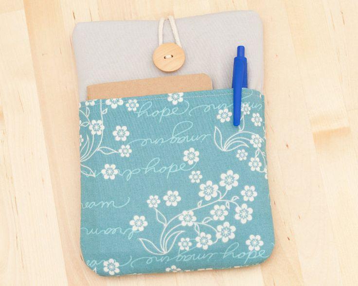 Custodie per eBook - ipad mini case - blue dreams with pockets- - un prodotto unico di nimoo su DaWanda