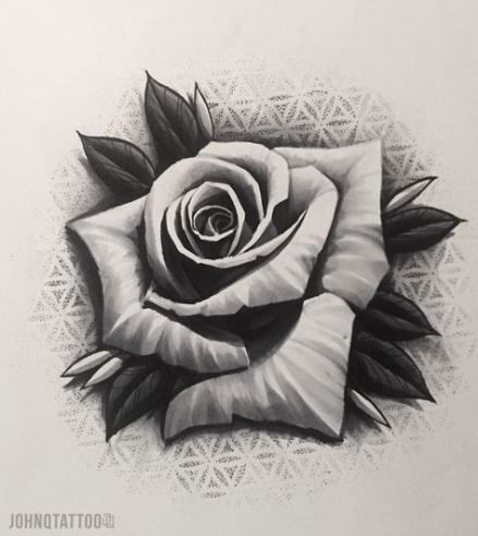 Nuevo Tatuaje Rose Dotwork Flower 50 Ideas Nuevo Tatuaje Rose Dotwork Flower 50 Ideas Tatuaje In 2020 Rose Drawing Tattoo Rose Flower Tattoos Realistic Rose Tattoo