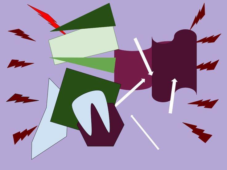 Ejercicio 2.2  Los rayos y las figuras más punzantes muestran los tonos más graves de la canción y las más redondeadas cuando la música se torna más relajada y melodiosa. Se compone de colores claros y oscuros debido a su letra, algo oscura pero a la vez romántica.
