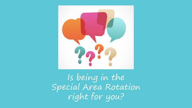 Exploring School Counseling: Is Being in the Special Area Rotation Right for You?