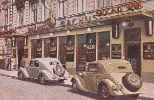 Ulica Widok 25, Rastauracja Bachus  II połowa lat 30 - tych