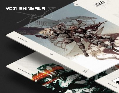 "Check out new work on my @Behance portfolio: ""Yoji Shinkawa - website"" http://be.net/gallery/41463117/Yoji-Shinkawa-website"
