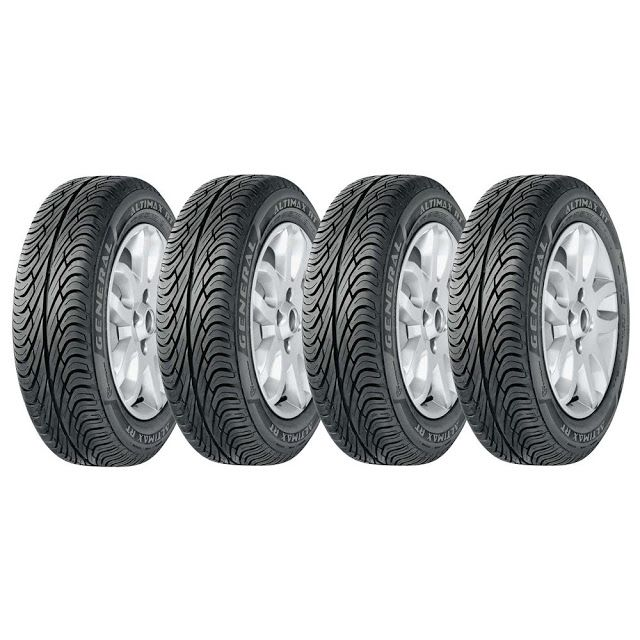 Pneus de Alta Resistência 175/70 R13 82T Altimax General Tire - 4 unidades << R$ 56620 >>