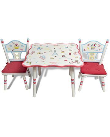 Major-Kids Стол и 2 стула Париж  — 21500р. --------------------- Комплект Стол и 2 стула Париж Major-Kids - яркий набор, включающий стол, стульчики и подушки для сидений. Материал - древесина, МДФ. Для детей от 18 месяцев.
