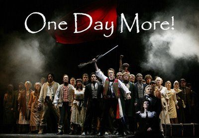 One day more until i see les mis for the second time! ive already got my tickets!
