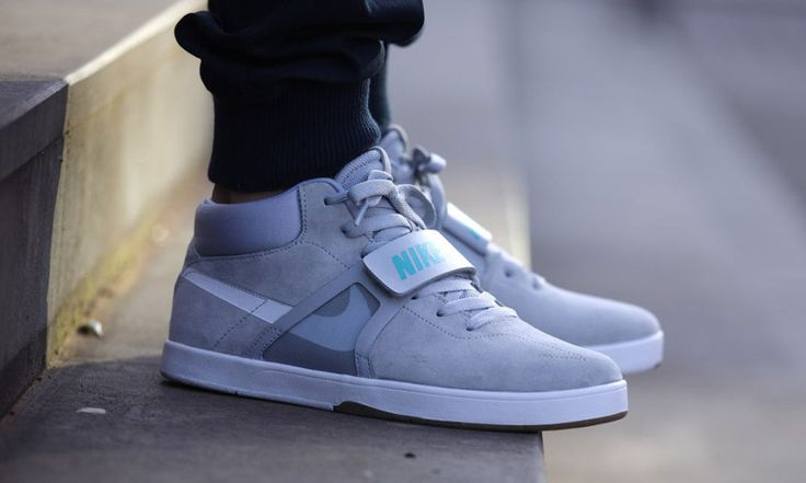 """Nike SB Eric Koston Mid PRM """"McFly"""". If only these had the self-tying power laces like the MAGs."""