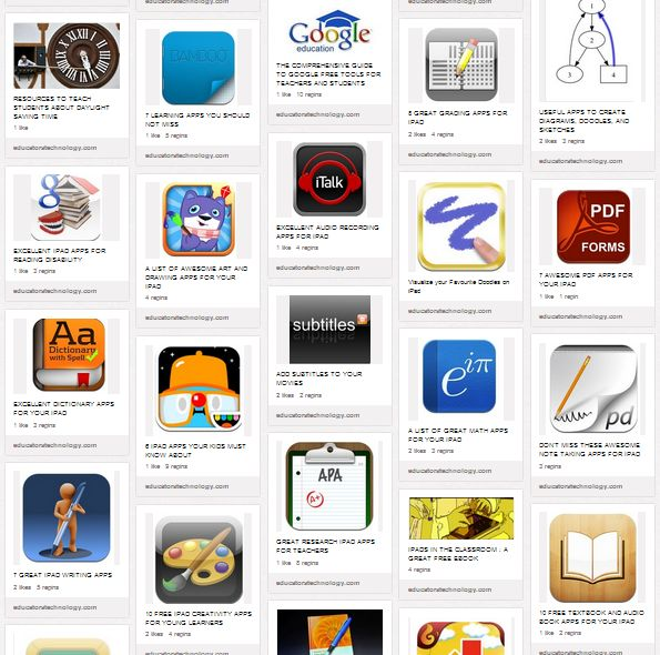 100+ Great Educational iPad Apps for Teachers ~ Educational Technology and Mobile Learning
