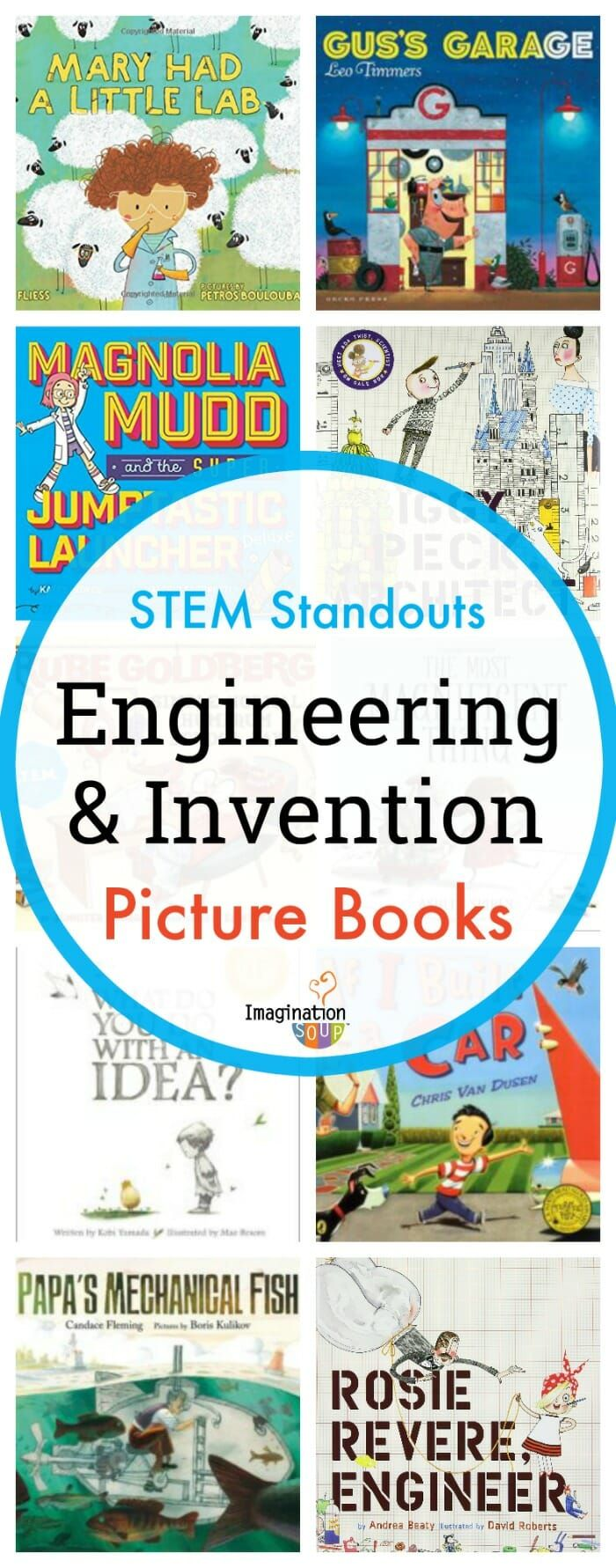 11 Standout STEM Engineering and Invention Picture Books #kids #engineering #childrensbooks