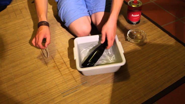 die besten 25 glas schneiden ideen auf pinterest schneiden von glasflaschen bierflaschen. Black Bedroom Furniture Sets. Home Design Ideas
