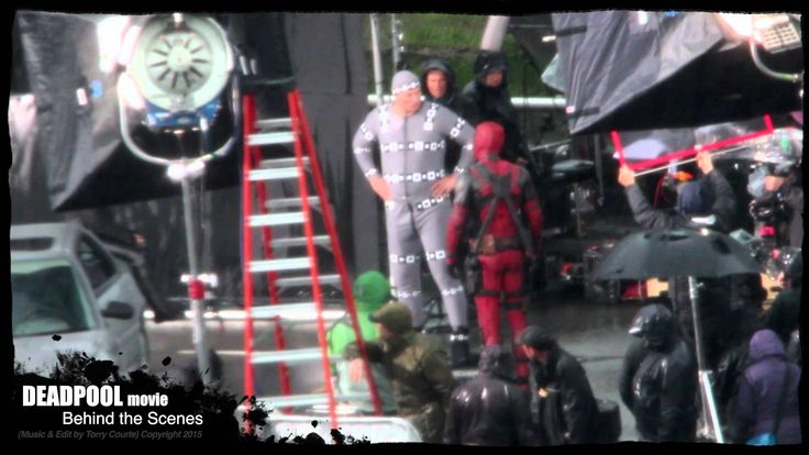 DEADPOOL MOVIE Behind the Scenes - Deadpool and Colossus