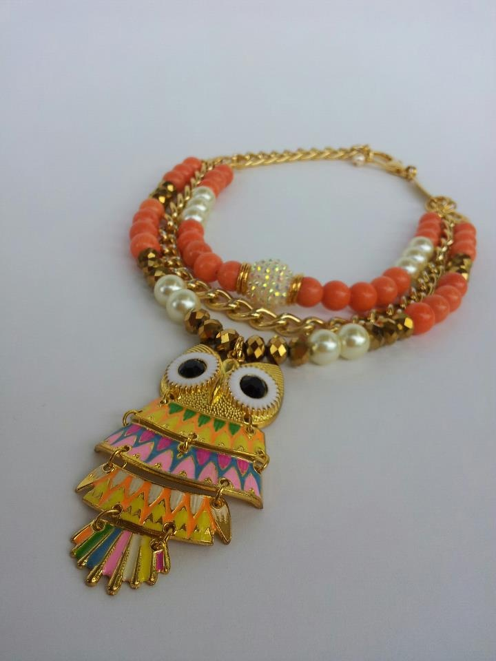 COLLAR BUHO REF:CL291 $ 95.000