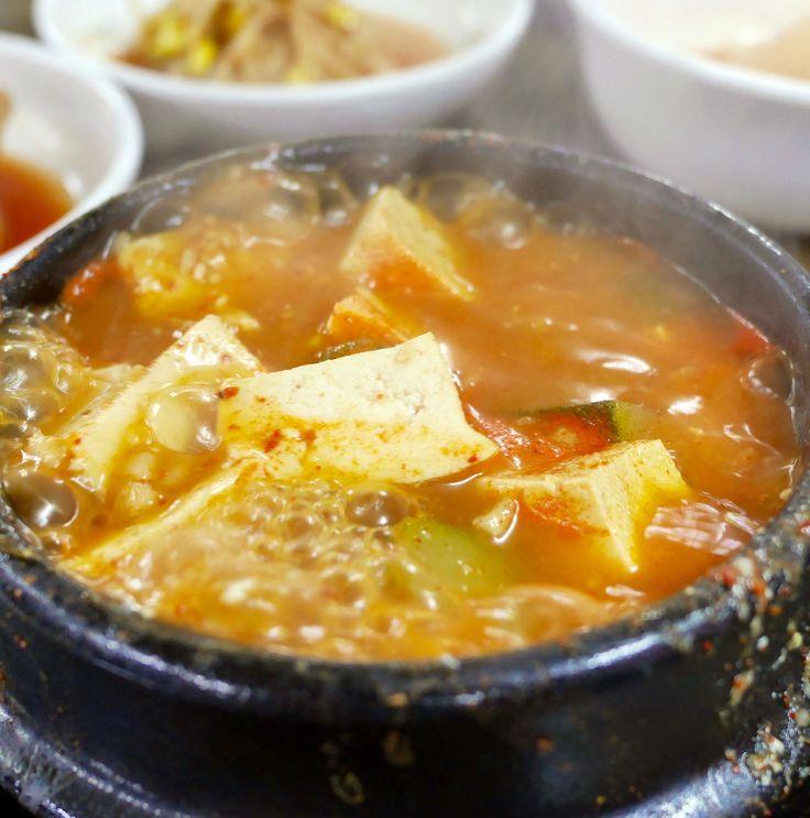 日本人をも魅了する、  韓国のチゲたち第2弾 #러브닷 #luvdat #ソウル #カロスキル #江南 #キムチチゲ #テンジャンチゲ #プデチゲ #純豆腐チゲ #狎鴎亭 #チゲ