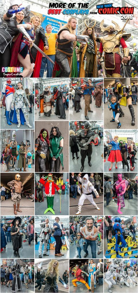 New York Comic Con 2018 Cosplay Recap Part 2 | New York Comic Con