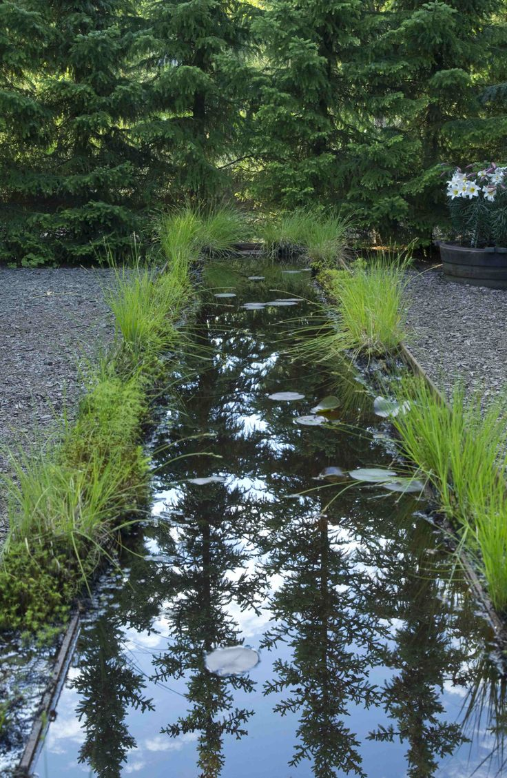 Water, garden at Wij gardens by Ulf Nordfjell. Photo Sophia Callmer