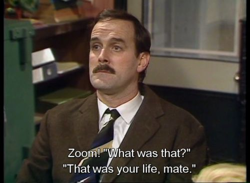 "And finally, you can't help but feel a little nostalgic from time to time. | 23 Ways You're Definitely Basil Fawlty From ""Fawlty Towers"""