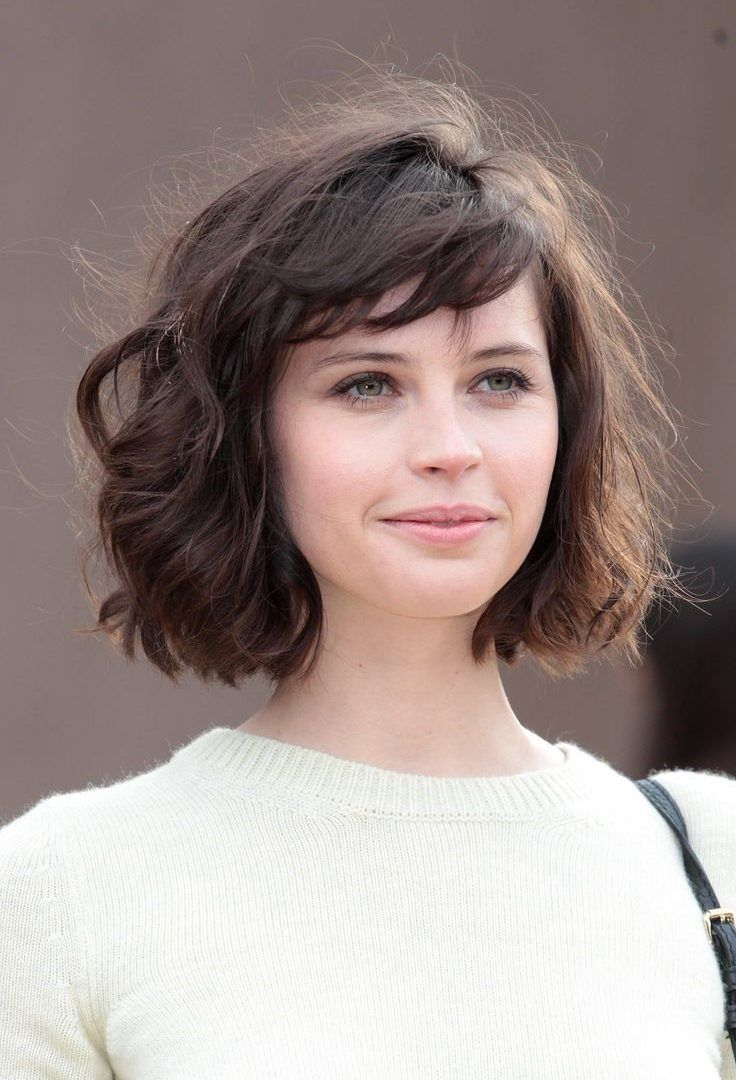 wash and wear short haircuts with bangs - google search