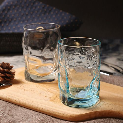 Aliexpress.com : Buy Made In Italy drinkware glass cup creactive brief high quality irregular cold water juice tea drinking alcohol whisky glass cups from Reliable whisky glass suppliers on QiekeHome Store