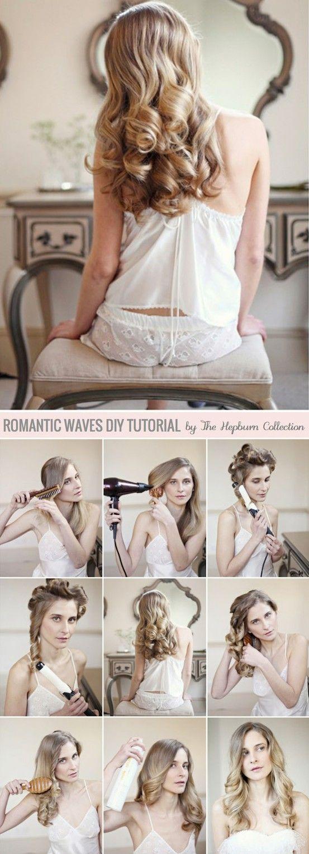 Romantic waves  - tutorial