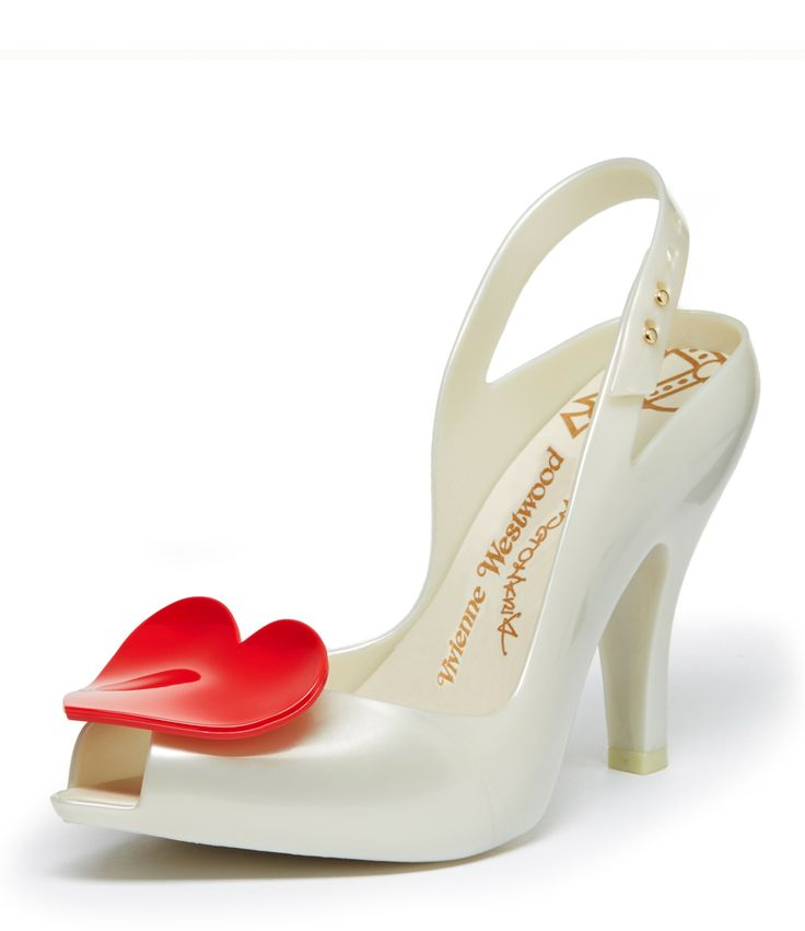 WHITE LADY DRAGON WITH HEART - VIVIENNE WESTWOOD