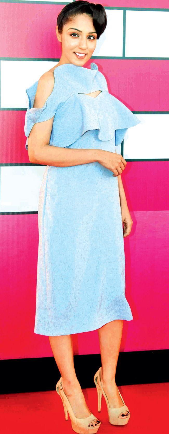 Lekha Washington at Lakme Fashion Week curtain raiser. #Bollywood #Fashion #Style #Beauty