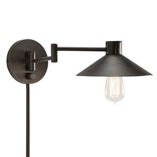 Shop for Transitional 1-light Bronze Swing Arm Pin-up Plug-in Wall Lamp. Get free delivery at Overstock.com - Your Online Home Decor Destination! Get 5% in rewards with Club O!