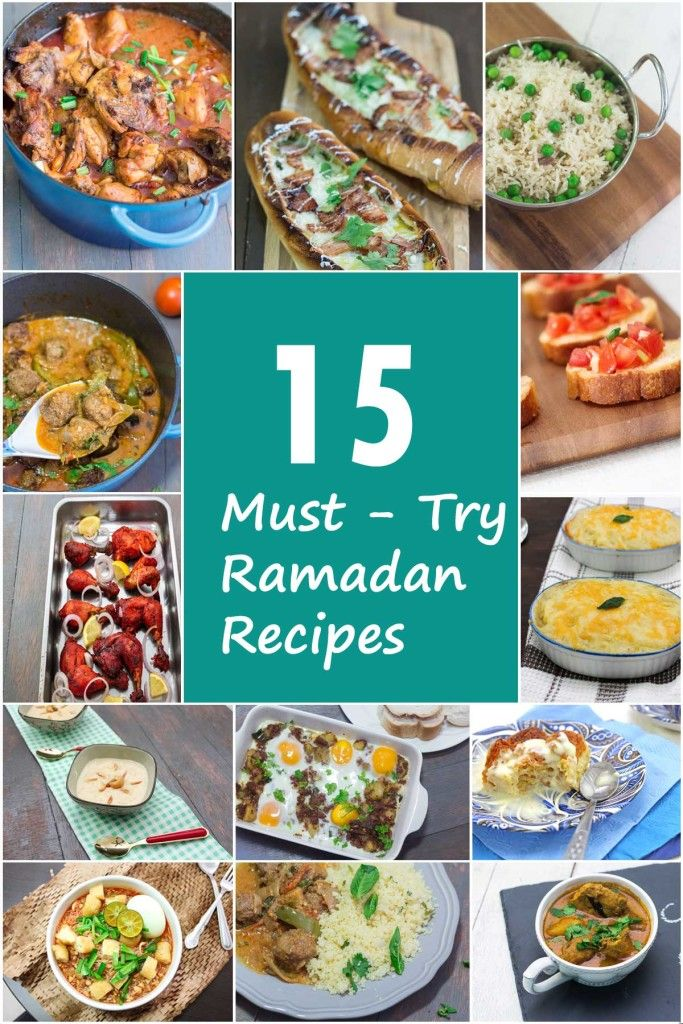 15 Must Try Ramadan Recipes | http://mayakitchenette.com/15-must-try-ramadan-recipes