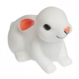 Hip, retro led-nachtlampje konijn liggend