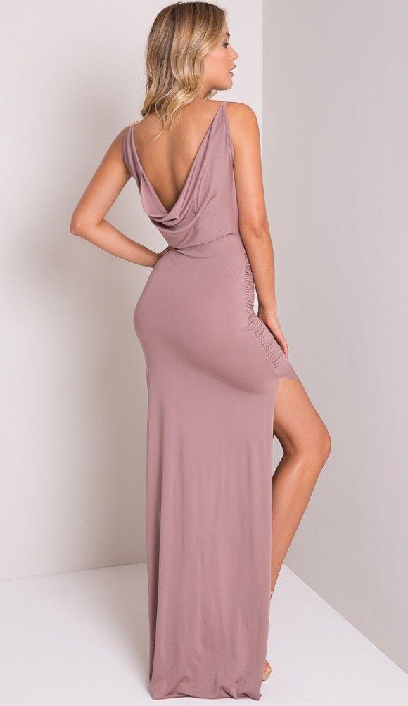 popcherry maxi dress