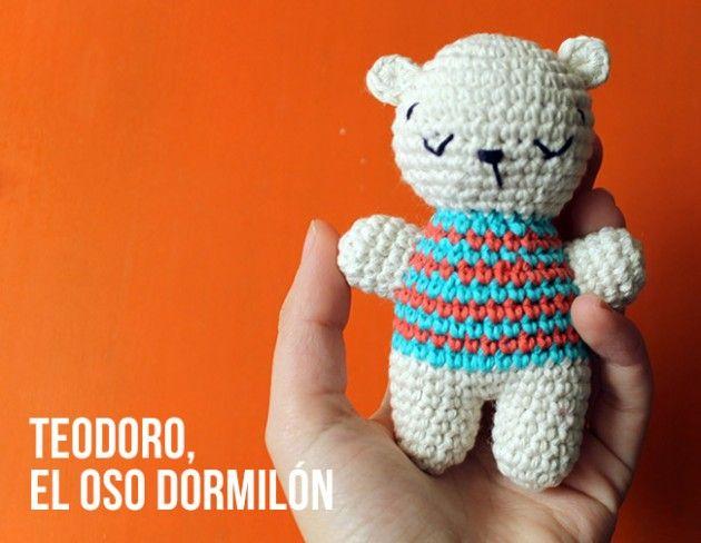 Teodoro, el Oso Dormilón Amigurumi - Patrón Gratis en Español