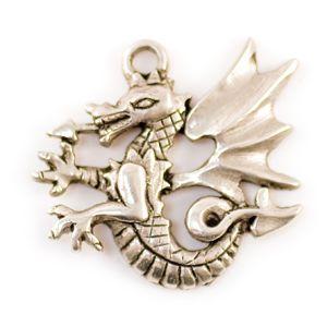 Pendentif breton et celte dragon - Pendentifs celtiques - Bijou ésotérique - Alchimiste.fr : boutique librairie ésotérique en ligne
