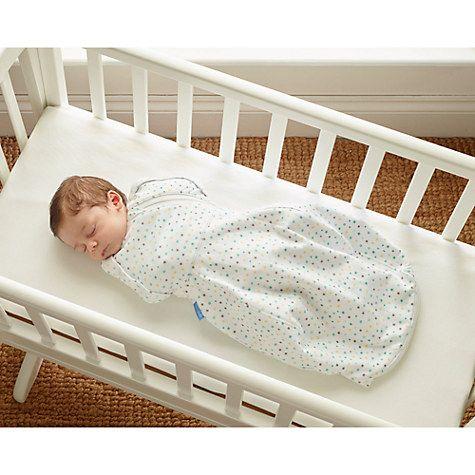 Buy Grobag Baby Gro-snug Newborn Make A Wish Swaddling Blanket Online at johnlewis.com
