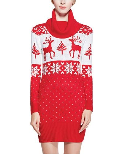 Holiday Deer Sweater Jumper