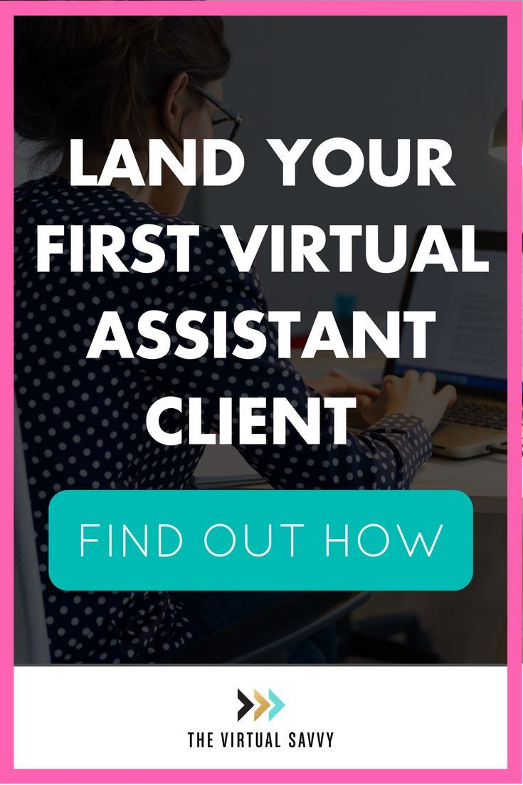 Land your first Virtual Assistant client with this FREE marketing plan from The Virtual Savvy!