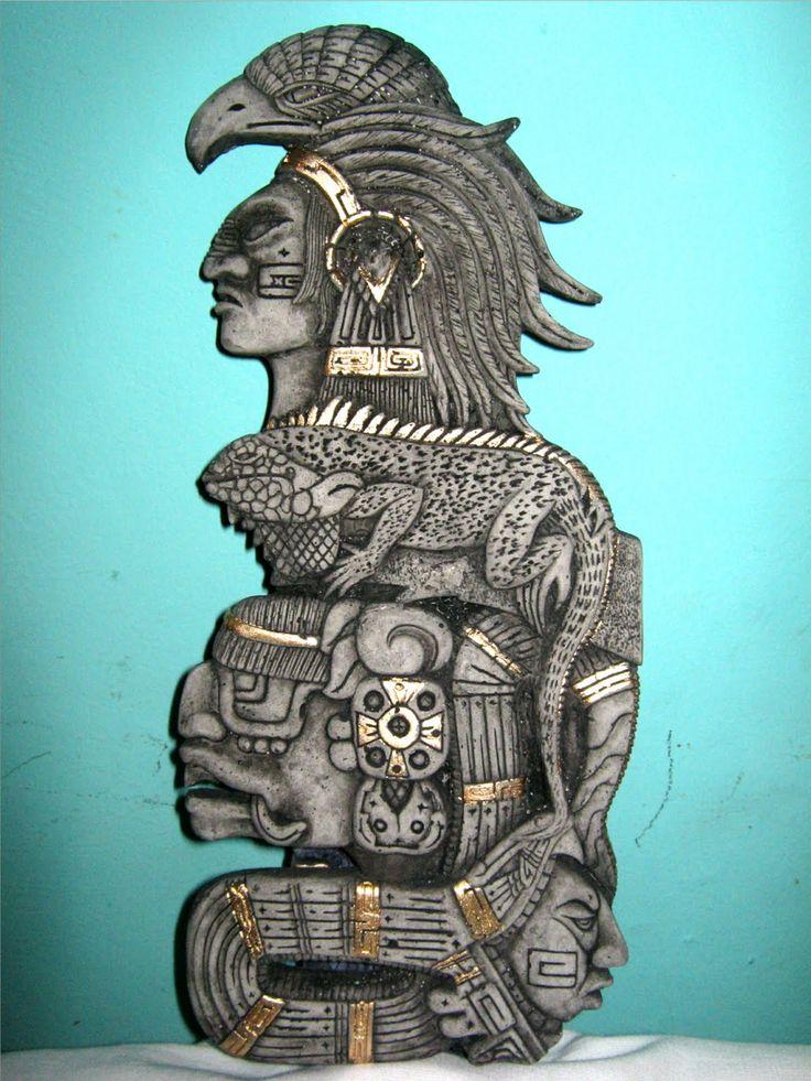 artesanias mayas Aztec Symbols, Mayan Symbols, Arte Latina, Mayan Tattoos, Aztec Tattoo Designs, Aztec Warrior, Font Art, Aztec Art, Scary Art
