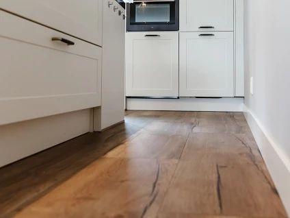 Laminaatvloer in de keuken