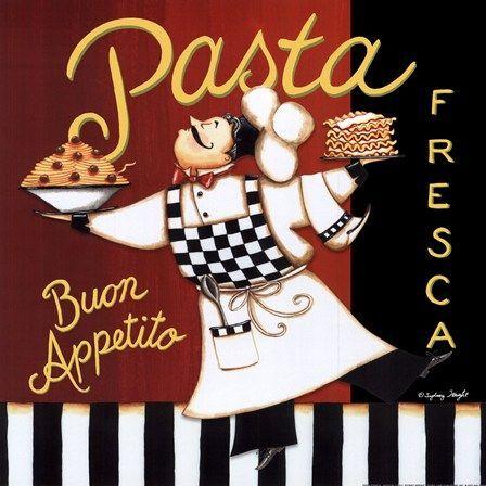 Pasta Fresca by Sydney Wright art print