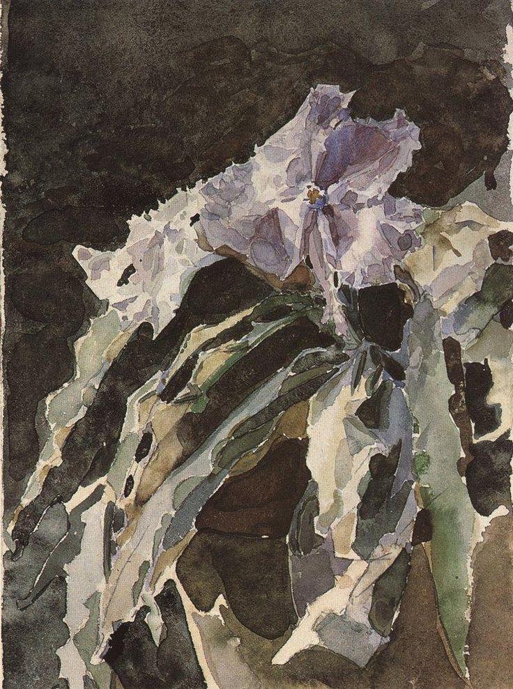 Мир Врубеля. Орхидея. 1886-1887