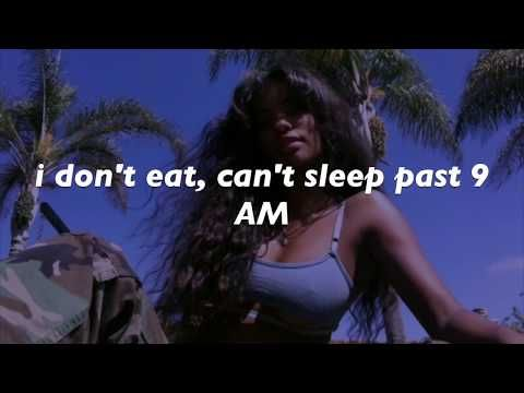 SZA - Broken Clocks // LYRICS - YouTube | Music in 2019