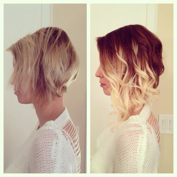 19 best micro loop hair extensions images on pinterest before and after blonde tape in extensions to give ombr effect looking for hair extensions to refresh your hair look instantly focus on offering premium pmusecretfo Gallery